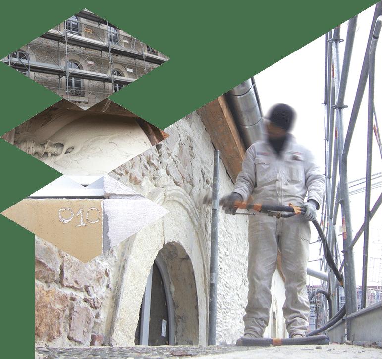 façadiers lyon, entreprise de ravalement, rénovation façades, ravalement de façade